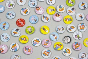 BUZZIES Buttons